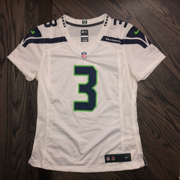best authentic b9f6c d5785 NIKE - WOMEN'S - SMALL - RUSSELL WILSON Jersey